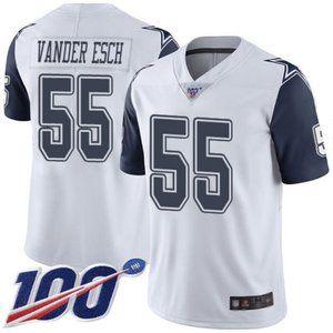 Cowboys Leighton Vander Esch 100th Season Jersey 4